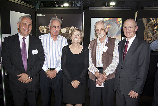 Alec Coles, Jonathan Majer, Lyn Beazley, Harry Butler and Colin Beckett